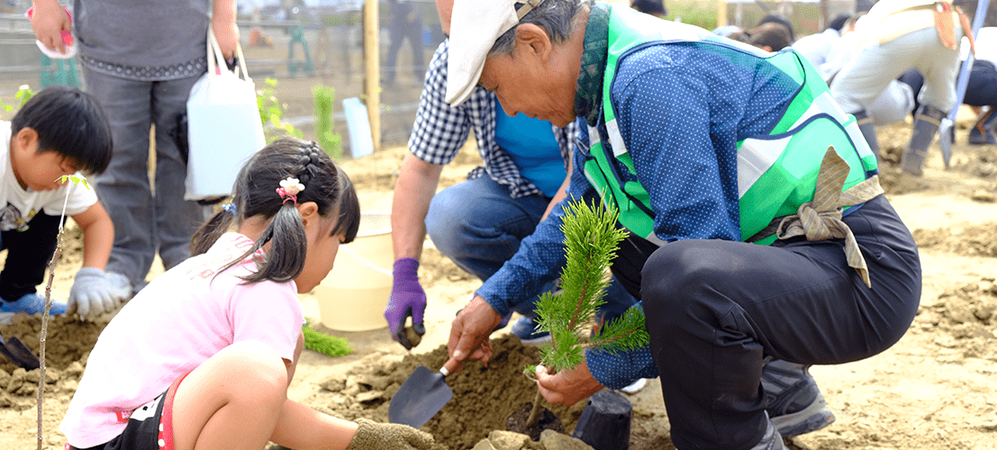 『植物と人との好ましい関係を模索し、提案する』
