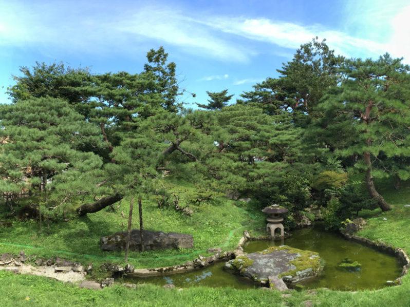 国指定名勝 旧秋田藩主佐竹氏別邸(如斯亭)庭園修復設計・監理